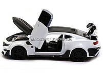 Машинка модель Автопром Chevrolet Самого (Шевроле Камаро) Білий арт.7645, фото 4