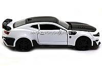 Машинка модель Автопром Chevrolet Самого (Шевроле Камаро) Білий арт.7645, фото 5