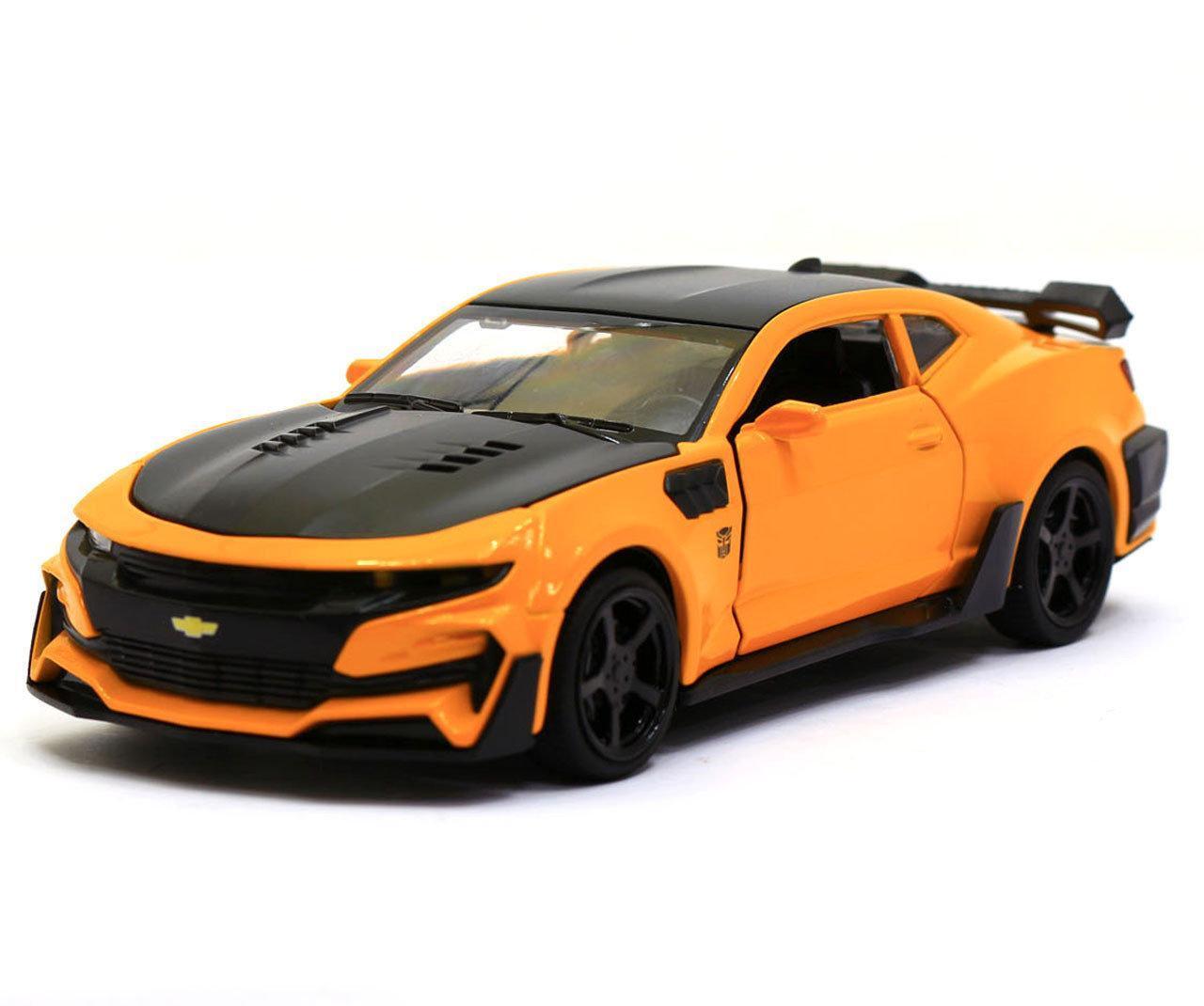 Машинка модель Автопром Chevrolet Сamaro (Шевроле Камаро) Желтый арт.7645