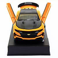 Машинка модель Автопром Chevrolet Сamaro (Шевроле Камаро) Желтый арт.7645, фото 6