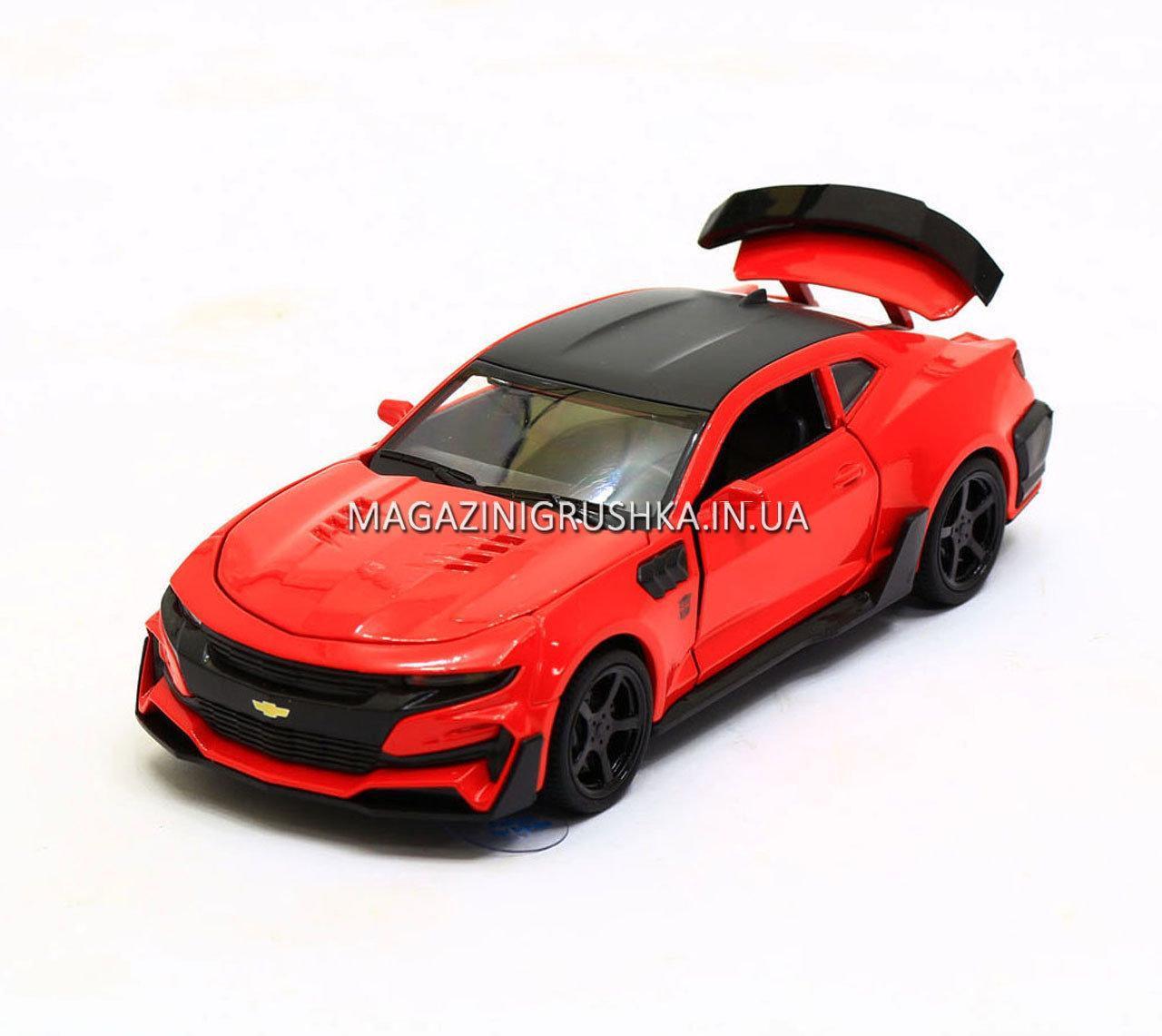 Машинка модель Автопром Chevrolet Сamaro (Шевроле Камаро) Красный арт.7645