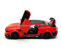 Машинка модель Автопром Chevrolet Сamaro (Шевроле Камаро) Красный арт.7645, фото 3