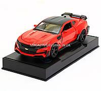 Машинка модель Автопром Chevrolet Сamaro (Шевроле Камаро) Красный арт.7645, фото 5