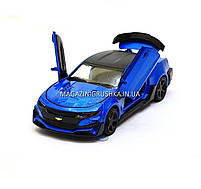 Машинка модель Автопром Chevrolet Сamaro (Шевроле Камаро) Синий арт.7645, фото 2