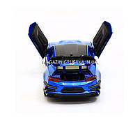 Машинка модель Автопром Chevrolet Сamaro (Шевроле Камаро) Синий арт.7645, фото 4