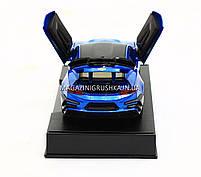 Машинка модель Автопром Chevrolet Сamaro (Шевроле Камаро) Синий арт.7645, фото 8
