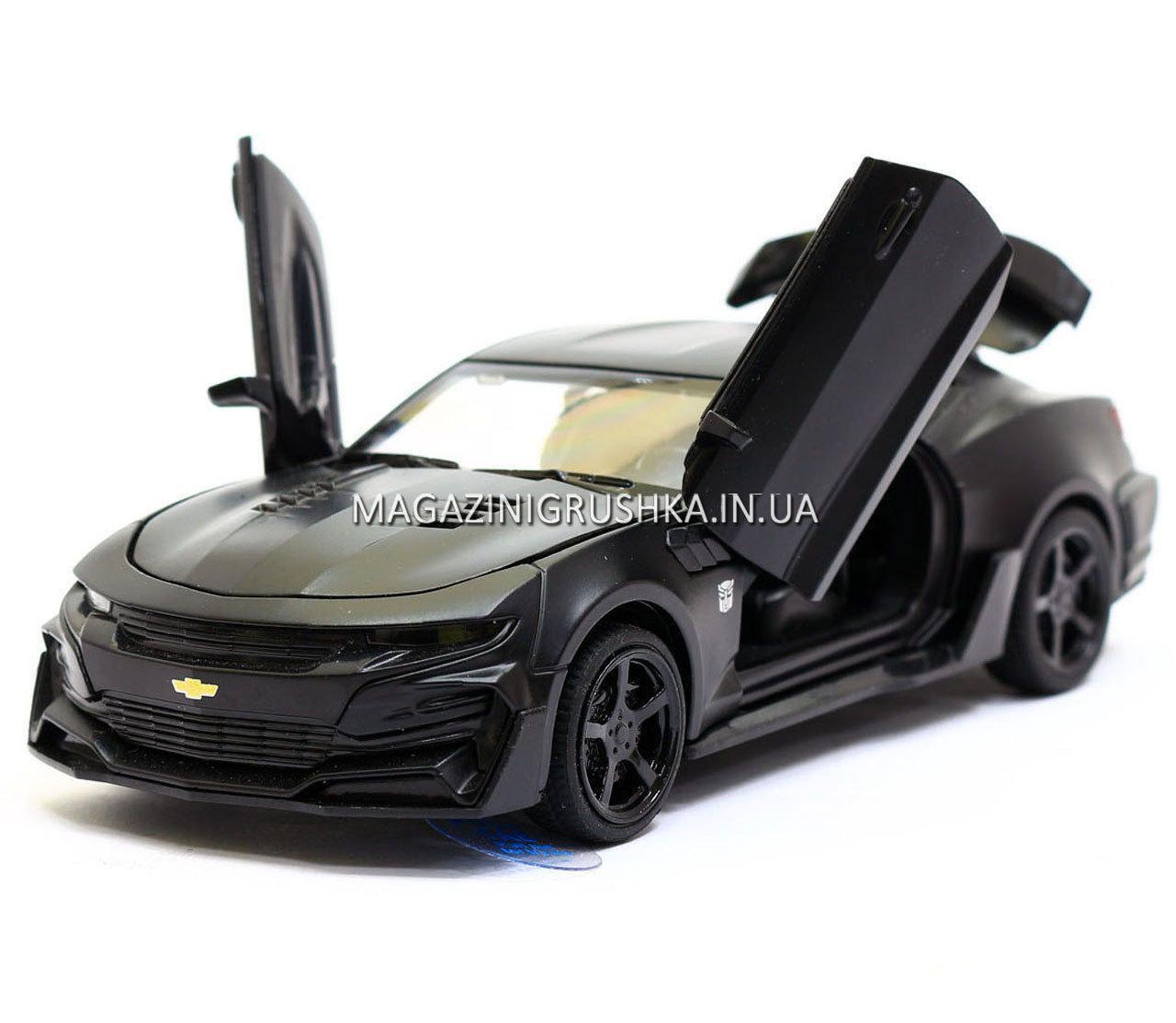 Машинка модель Автопром Chevrolet Сamaro (Шевроле Камаро) Черный арт.7645