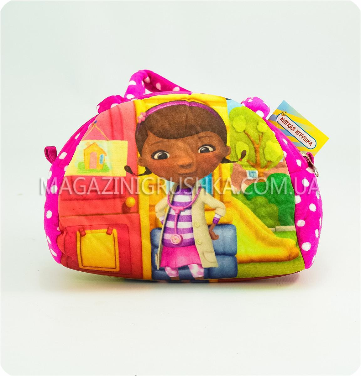 Міні-сумочка дитяча «Улюблені герої» - Доктор Плюшева