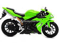 Мотоцикл Автопром модель «Yamaha R1» Салатовый 7747, фото 2