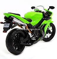 Мотоцикл Автопром модель «Yamaha R1» Салатовый 7747, фото 3