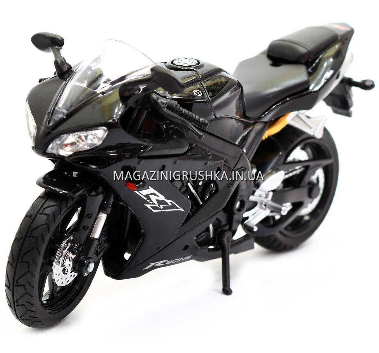 Мотоцикл Автопром модель «Yamaha R1» Черный 7747