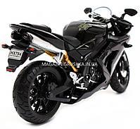 Мотоцикл Автопром модель «Yamaha R1» Черный 7747, фото 3