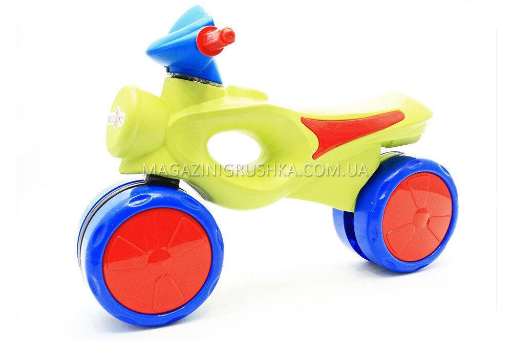 Мотоцикл-толокар «kinderway» Салатовий 11-008