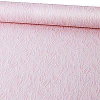 Метровые Обои Виниловые на флизелиновой основе Красивые Розовые жатка Спальня Прихожая 1225-06/6542-25/1227-06
