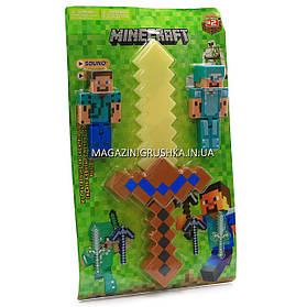 Набор фигурок «Minecraft» (Майнкрафт, 7 предметов), №2 27х3х45 см (JL 18334-2)
