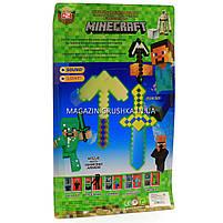 Набор фигурок «Minecraft» (Майнкрафт, 7 предметов), №2 27х3х45 см (JL 18334-2), фото 2