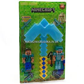 Набор фигурок «Minecraft» (Майнкрафт, 7 предметов), №3 27х3х45 см (JL 18334-2)