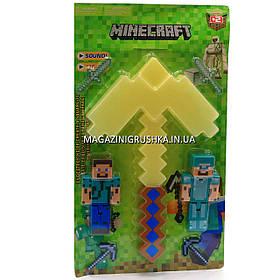Набор фигурок «Minecraft» (Майнкрафт, 7 предметов), №4 27х3х45 см (JL 18334-2)