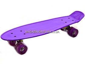Пенни борд (скейт). Бесшумные светящиеся колесами 180412 - Вид 3