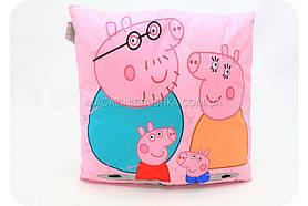 Подушка детская Семья Пеппа 43см 24970-1
