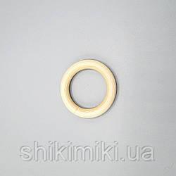 Колечки деревянные, 65 мм