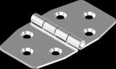 70х40x1.5 А2 Петля симметричная Metalvis [NM400NM48044704000]