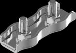 2мм А4 Зажим для троса двойной нержавеющий Metalvis [N3S00000N6S0200001]