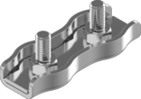 3мм А4 Зажим для троса двойной нержавеющий Metalvis [N3S00000N6S0300001]