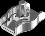 2мм А4 Зажим для троса одинарный нержавеющий Metalvis [N3S00000N5S0200001]