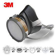 Напівмаска 3M ™ 3200 / 3M 320P промислова маска, респіратор з усіма фільтрами