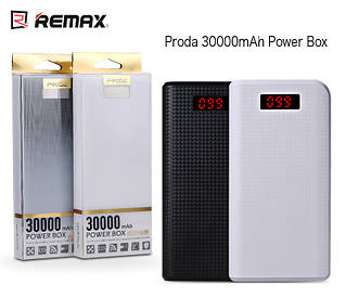 УМБ Remax Proda Series 30000 mAh Black / White