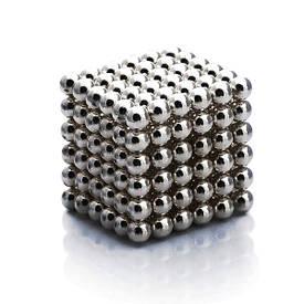 Неокуб, neocube 4 мм, никель - магнитный конструктор головоломка, магнитные шарики