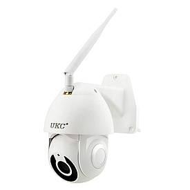 Уличная поворотная Ip Камера видеонаблюдения v380 купольная 1080p 2.0 mp