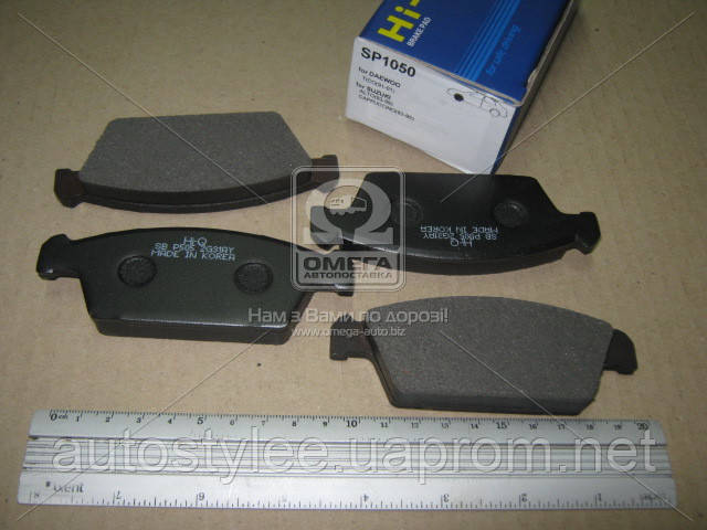 Колодки тормозные DAEWOO TICO 0.8 передние (пр-во SANGSIN), SP1050