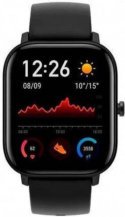 Xiaomi Amazfit GTS Global Version (Black), фото 2