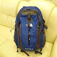 Мужской рюкзак для ноутбука The North Face Blue 40 литров