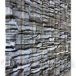 Профнастил О. 45 під дикий камінь на паркан бляха 125 см висота