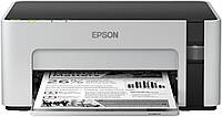 Принтер струйный черно-белый для дома и офиса с вай фаем МФУ Epson M1120 (C11CG96405)  Wi-Fi