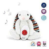 ZAZU Музыкальная мягкая игрушка BIBI с белым шумом.