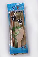 Макису бамбуковый ролик + ложка + бамбуковые палочки  для скатывания роллов