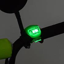 Велосипед детский PROF1 14 Д. XD1442 салатово-черный, фото 3