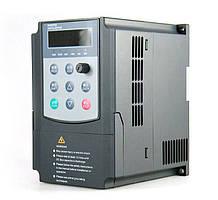 Перетворювач частоти однофазний з векторним керуванням 0,75 kW
