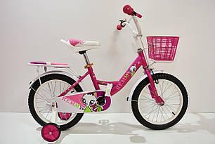 """Детский Велосипед 16"""" Remmy VIOLETTA 2020 для девочки"""