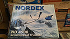 Бензокоса Nordex ND-4500 Нож+шпуля с леской. Триммер, фото 3