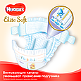 Підгузки Huggies Elite Soft 4 (8-14кг), 132шт, фото 4