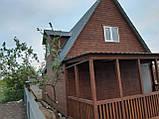 Дачный каркасный дом 6* 8 , 2 этажа с террасой, фото 4