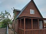 Дачный каркасный дом 6* 8 , 2 этажа с террасой, фото 5