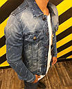 Джинсовая куртка BALENCIAGA, фото 2