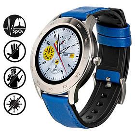Смарт часы Gelius Pro GP-L3 (URBAN WAVE 2020) (IP68) Silver/Dark Blue