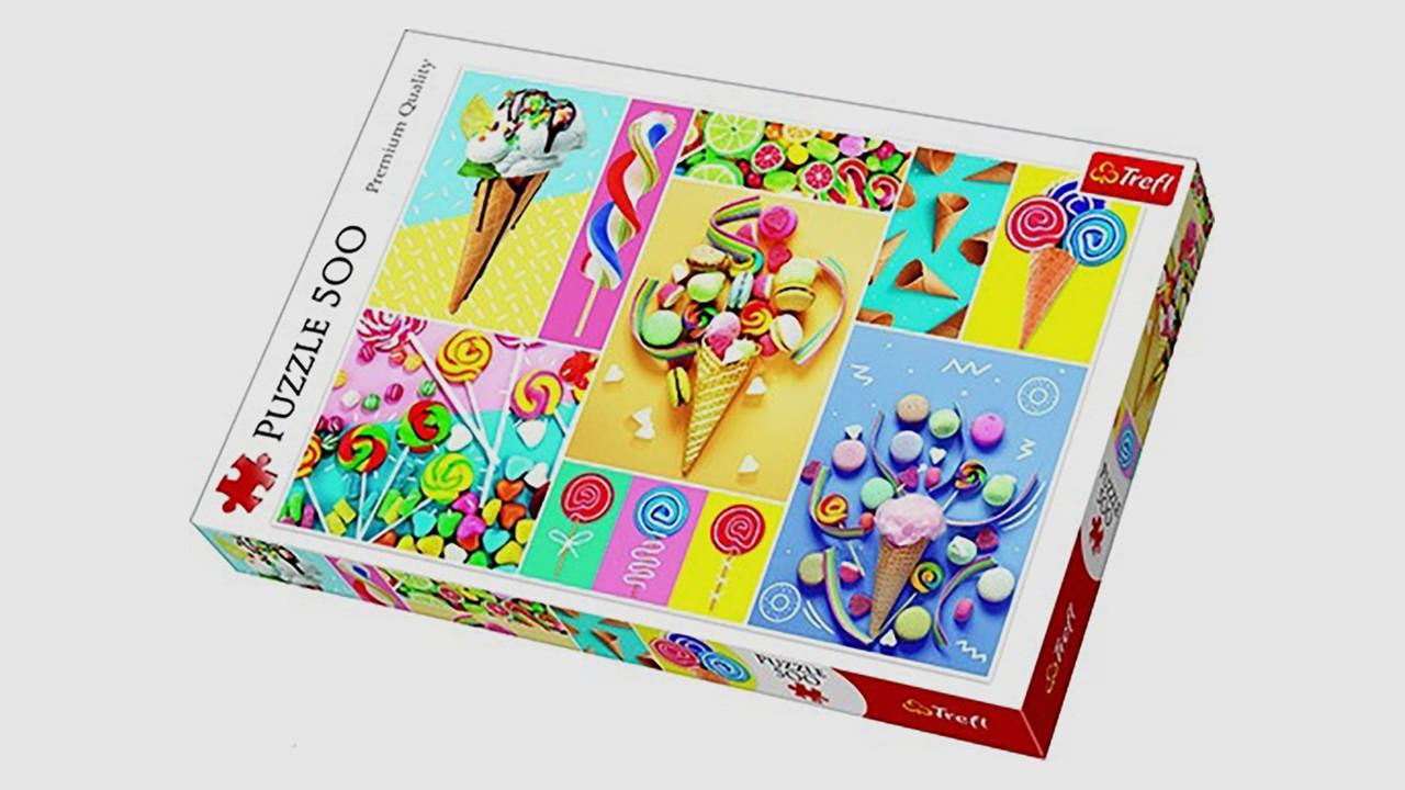 Пазлы Любимые сладости Trefl 37335. 500 элементов
